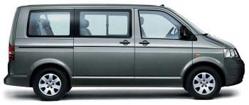 rent a car VW TRANSPORTER GAS