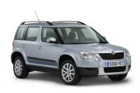 rent a car SKODA YETI 2000cc 4X4 DIESEL